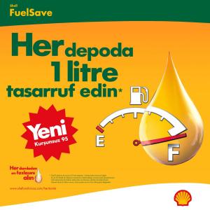 SHELL FUELl SAVE 95 oktan benzin ile yakıt tasarrufu