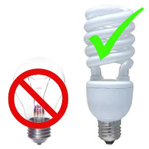 enerji tasarruflu ampuller